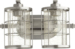 "14""w Ellis 2-light Bath Vanity Light Satin Nickel"