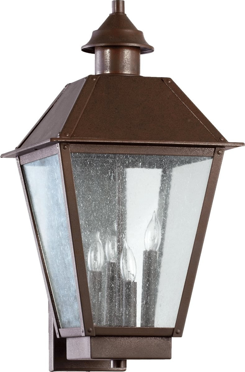 "23""H Emile 4-Light Outdoor Wall Lantern Oiled Bronze"