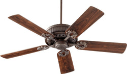 Quorum Empress Ceiling Fan Oiled Bronze 3552586