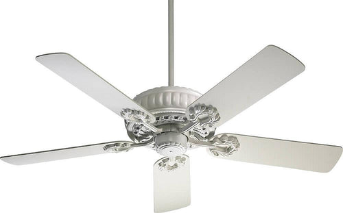 Quorum Empress 52 5-Blade Ceiling Fan Studio White 355258