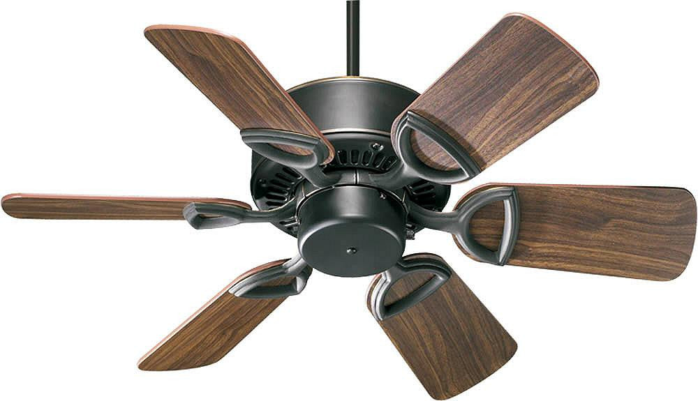 "30""W Estate 6-Blade Ceiling Fan Old World"