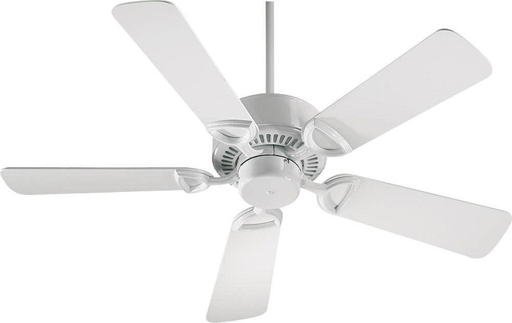 "42""W Estate 5-Blade Ceiling Fan White"