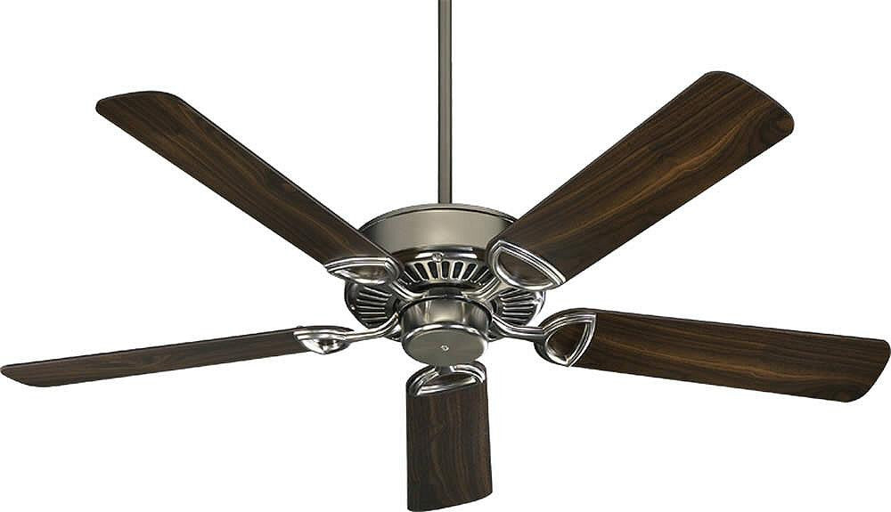 "Estate 52"" 5-Blade Ceiling Fan Satin Nickel"
