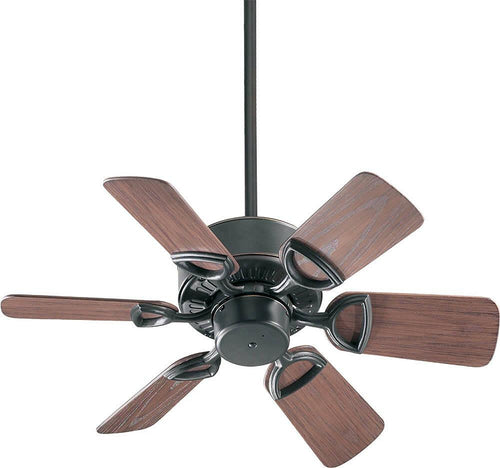 Quorum Estate Patio Indoor/Outdoor 30 6-Blade Patio Ceiling Fan Old World 14330695