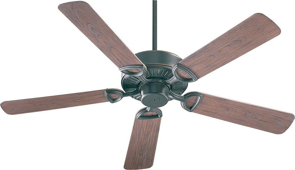 "52""W Estate Patio Indoor/Outdoor 5-Blade Patio Ceiling Fan Old World"