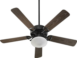"Estate Patio 2-Light Indoor/Outdoor 52"" 5-Blade Patio Ceiling Fan Old World"