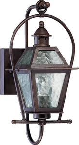 Quorum French Quarter 1-Light Outdoor Wall Lantern Oiled Bronze 7919186