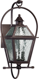 Quorum French Quarter 2-Light Outdoor Wall Lantern Oiled Bronze 7919286