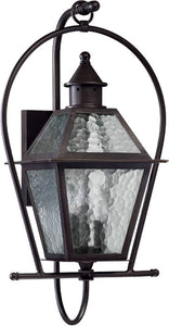 Quorum French Quarter 3-Light Outdoor Wall Lantern Oiled Bronze 7919386