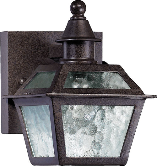 Quorum French Quarter 1-Light Outdoor Wall Lantern Oiled Bronze 791986