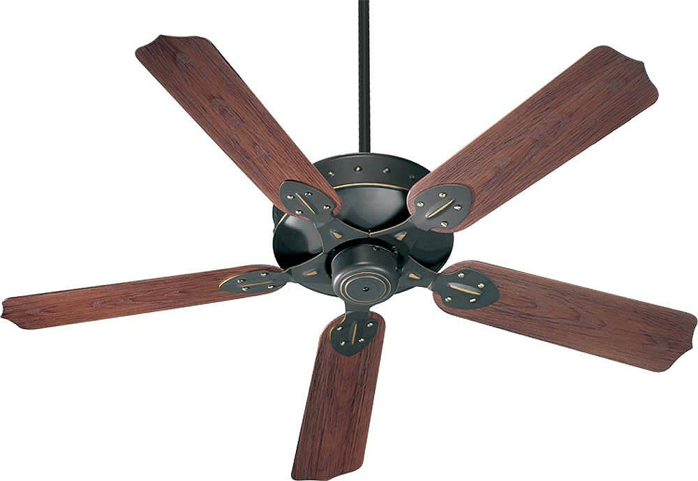 "52""W Hudson Indoor/Outdoor 5-Blade Patio Ceiling Fan Old World"