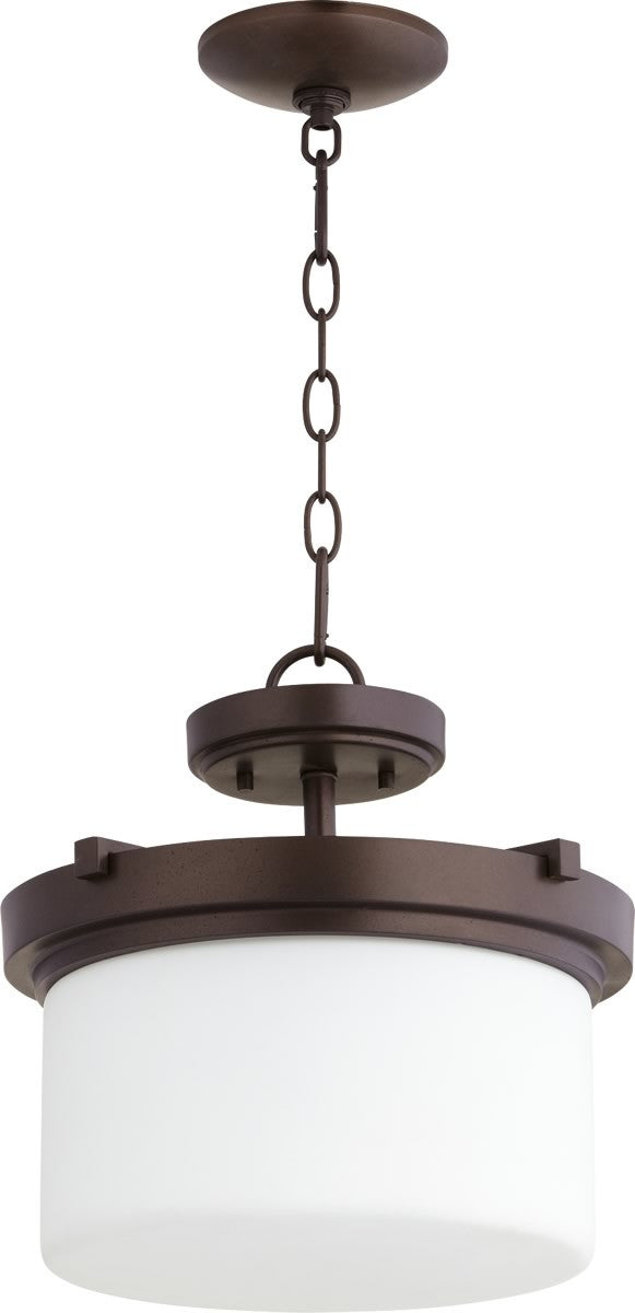 "13""W Lancaster 2-light Dual Mount Light Fixture Oiled Bronze"