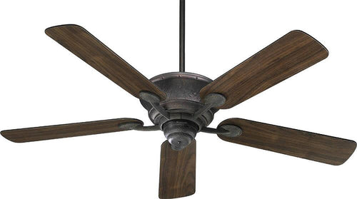 Quorum Liberty 52 5-Blade Ceiling Fan Toasted Sienna 4952544