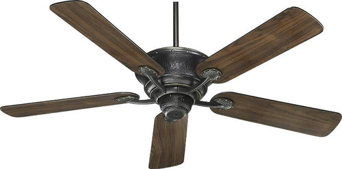 Quorum Liberty 52 5-Blade Ceiling Fan Old World 4952595