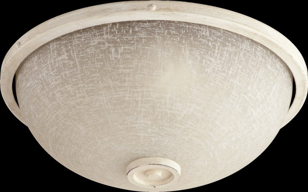 "14""W Marsden 2-Light Ceiling Fan Light Kit Persian White"