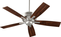Quorum Mercer Ceiling Fan Satin Nickel 9452565
