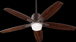 "52""W Metro 1-Light Ceiling Fan Light Kit Oiled Bronze"