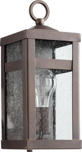 Quorum Clermont 1-Light Outdoor Lantern Oiled Bronze 772-86