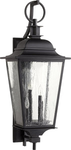 Quorum Pavilion 4-light Outdoor Wall Lantern Noir