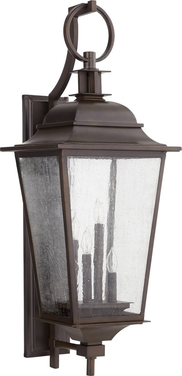 "36""H Pavilion 4-light Outdoor Wall Lantern Oiled Bronze"