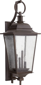 Quorum Pavilion 4-light Outdoor Wall Lantern Oiled Bronze