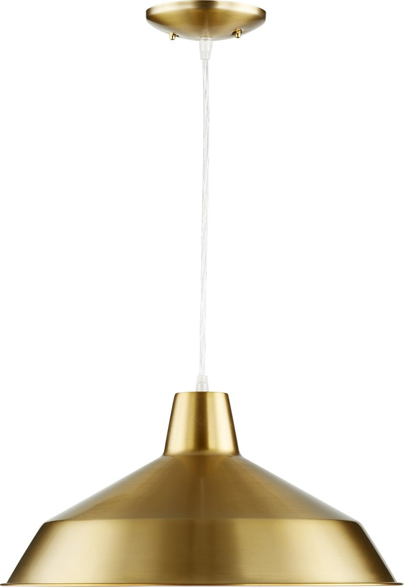 "16""W 1-light Pendant Aged Brass"