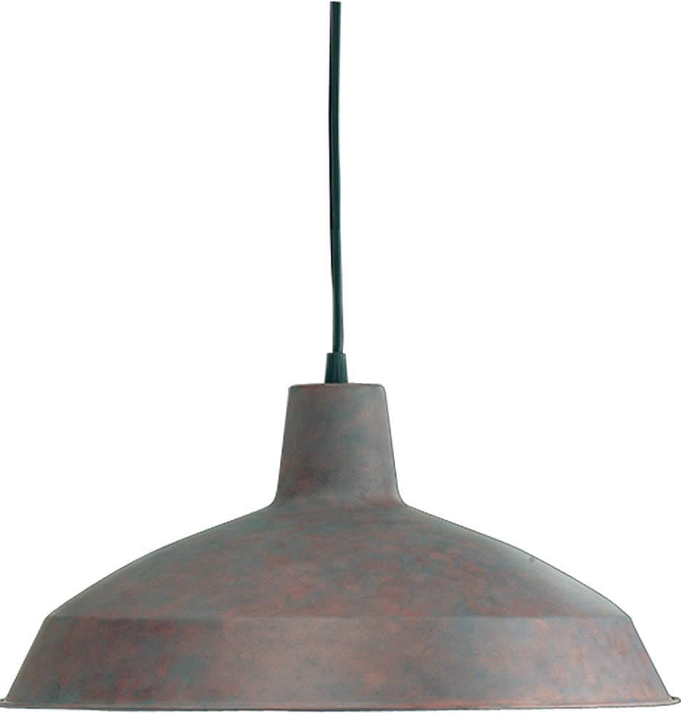 "16""w 1-Light Pendant Cobblestone"