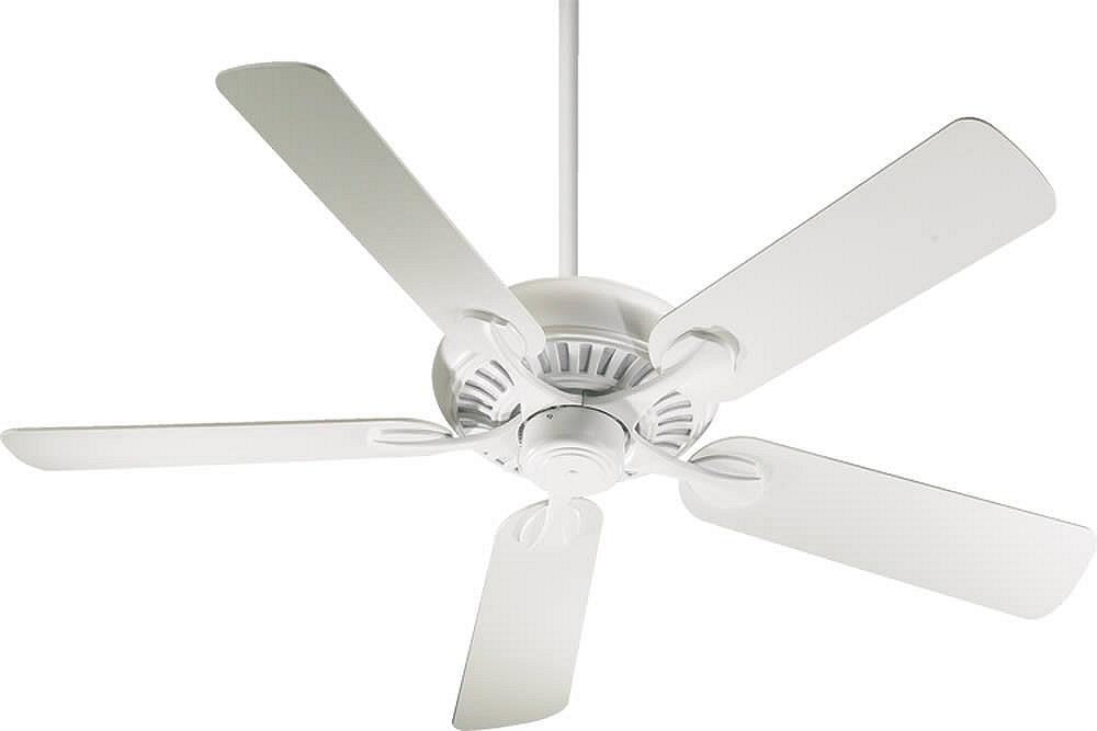 "52""W Pinnacle 5-Blade Ceiling Fan Studio White"