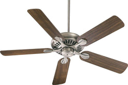 Quorum Pinnacle 52 5-Blade Ceiling Fan Antique Silver 9152592