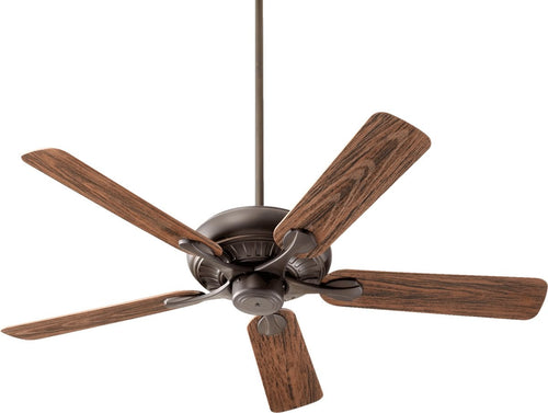 Quorum Pinnacle Patio Ceiling Fan Oiled Bronze 19152586