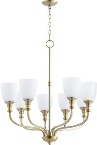 Richmond 8-light Chandelier Aged Brass