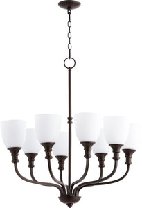 Richmond 8-light Chandelier Oiled Bronze