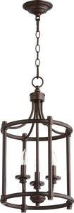 Rossington 3-light Entry Foyer Hall Chandelier Oiled Bronze