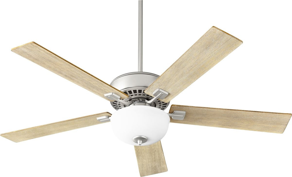 "52""W Rothman 2-light Ceiling Fan Satin Nickel"