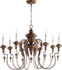 Salento 8-Light Chandelier Vintage Copper