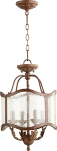 Quorum Salento 4-Light Pendant Vintage Copper 2906-13-39