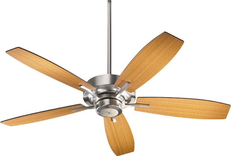 "52""W Soho -Light Ceiling Fan Satin Nickel"