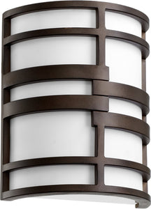 Quorum Solo 2-Light Wall Sconce Oiled Bronze 520286