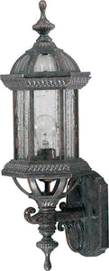 "20""h Stelton 1-Light Outdoor Wall Lantern Baltic Granite"