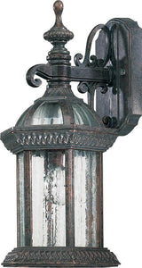 Quorum Stelton 1-Light Outdoor Wall Lantern Baltic Granite 781145