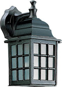 Quorum Thomasville 1-Light Outdoor Wall Lantern Black 79815