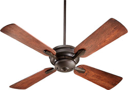 Quorum Valor -Light Ceiling Fan Oiled Bronze 8152486