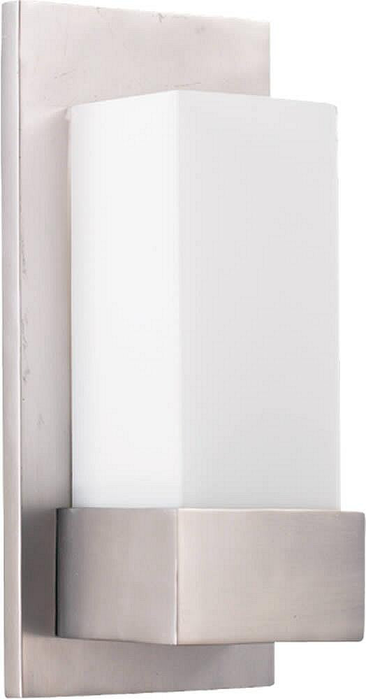 "5""W 1-Light Wall Sconce Satin Nickel"