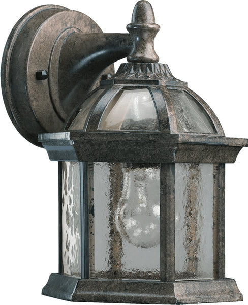 Quorum Weston 1-Light Wall Lantern Timberland Granite 7817-25