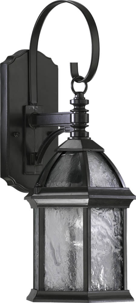 "20""H Weston 1-Light Outdoor Wall Lantern Timberland Granite"