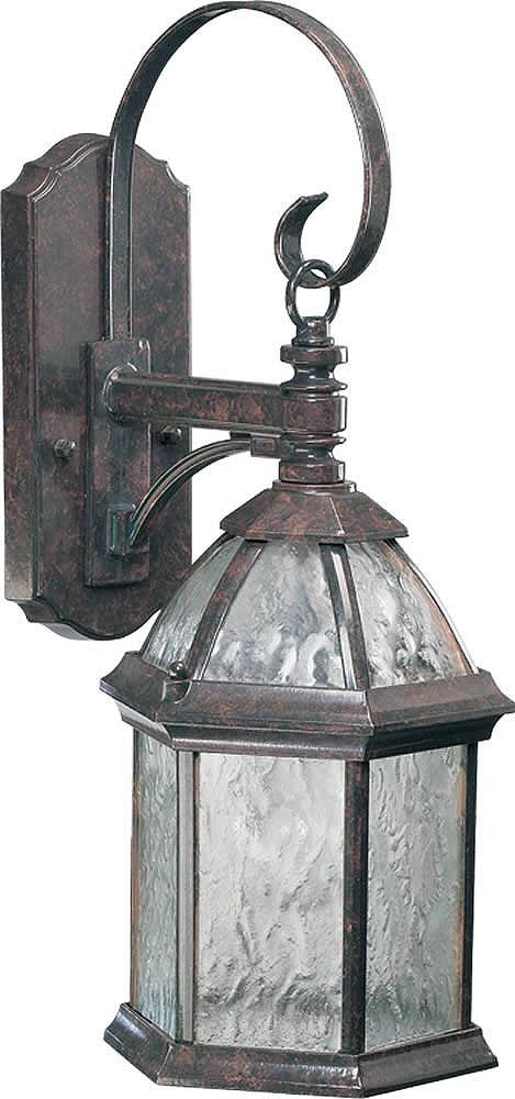 "20""H Weston 1-Light Outdoor Wall Lantern Baltic Granite"
