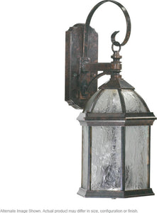 Quorum Weston 3-Light Outdoor Wall Lantern Timberland Granite 7817325