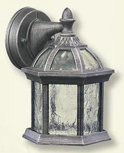 Quorum Weston 1-Light Outdoor Wall Lantern Baltic Granite 781745