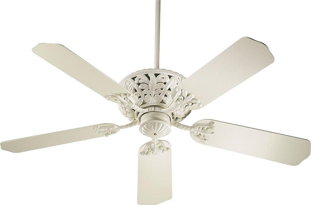 Quorum windsor 52 5 blade ceiling fan antique white 85525 67 lampsusa windsor 52 5 blade ceiling fan antique white aloadofball Choice Image