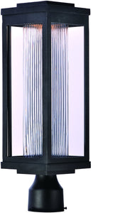 Maxim Salon LED 1-Light Outdoor Post 55900CRBK
